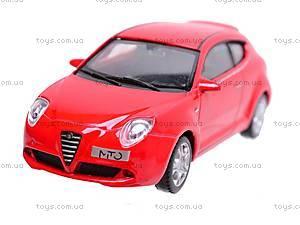 Модель машины Alfa Romeo Mito, 44007CW, магазин игрушек
