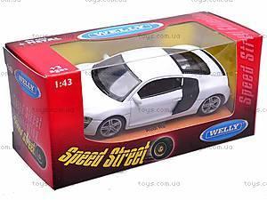 Модель машины Audi R8, 44025СW, купить