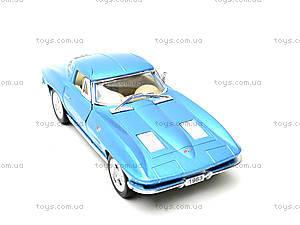 Модель машины CORVETTE STING RAY, KT5358W, магазин игрушек