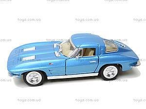 Модель машины CORVETTE STING RAY, KT5358W, toys.com.ua