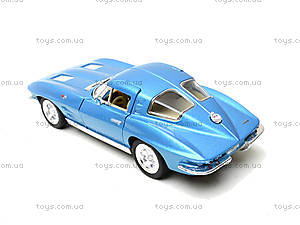 Модель машины CORVETTE STING RAY, KT5358W, toys