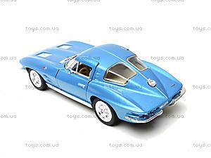 Модель машины CORVETTE STING RAY, KT5358W, toys