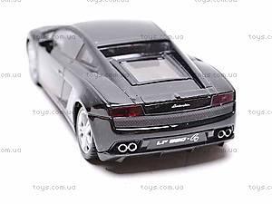 Модель машины Lamborghini Gallardo LP560-4, 44018CW, детские игрушки