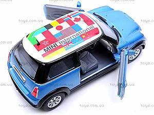 Модель машины MINI COOPER S, KT5059WF, игрушки