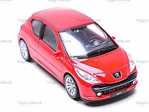 Модель машины Peugeot 207, 44004CW, фото