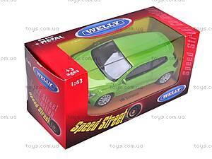 Модель машины Volkswagen Scirocco, 44027CW, купить