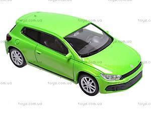 Модель машины Volkswagen Scirocco, 44027CW, игрушки