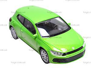 Модель машины Volkswagen Scirocco, 44027CW, детские игрушки