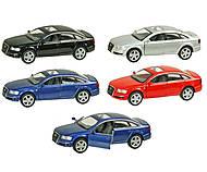 Модель машины Audi A6, ассортимент, KT5303W, тойс ком юа
