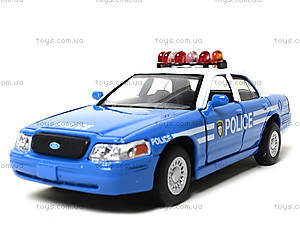 Модель машины «Ford Crown Victoria Police», KT5342AW, фото