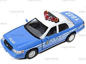 Модель машины «Ford Crown Victoria Police», KT5342AW, игрушки
