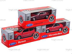 Модель машины Welly, масштаб 1:60-64, 58120-24WD-IN-14-A, детские игрушки
