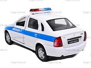 Модель милицейской машинки «LADA», 42383PB-W, купить
