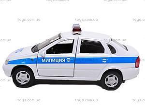 Модель милицейской машинки «LADA», 42383PB-W, фото
