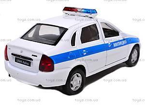 Модель милицейской машинки «LADA», 42383PB-W, отзывы