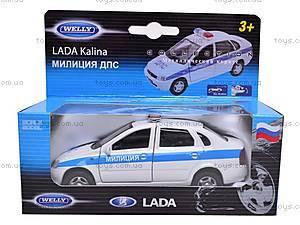 Модель милицейской машинки «LADA», 42383PB-W, цена