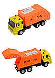 Модель мусоровоз PLAY SMART «Автопарк», 6554, фото