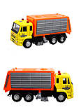Модель инерционного мусоровоза, 4 цвета , 6557, фото