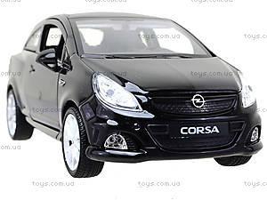 Модель Opel Corsa OPC, масштаб 1:24, 22511W, фото