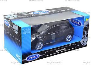 Модель Opel Corsa OPC, масштаб 1:24, 22511W, toys.com.ua