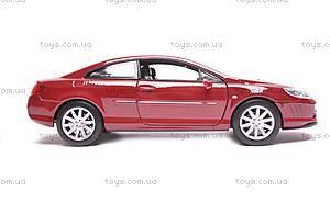 Модель Peugeot 407 Coupe, масштаб 1:24, 22475W, купить