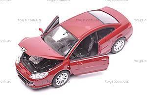 Модель Peugeot 407 Coupe, масштаб 1:24, 22475W, отзывы