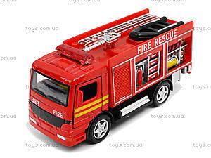 Металлическая модель машины «Пожарная», KS5110W, отзывы
