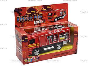 Металлическая модель машины «Пожарная», KS5110W, цена