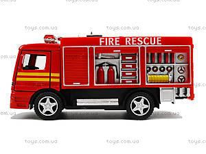 Металлическая модель машины «Пожарная», KS5110W, игрушки