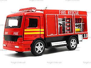 Металлическая модель машины «Пожарная», KS5110W, детские игрушки