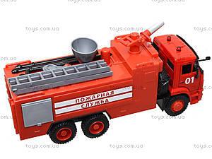 Модель пожарка PLAY SMART «Автопарк», 9624A, купить