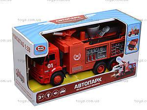 Модель пожарка PLAY SMART «Автопарк», 9624A, фото