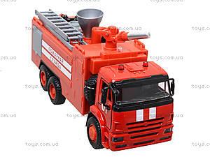 Модель пожарка PLAY SMART «Автопарк», 9624A, отзывы