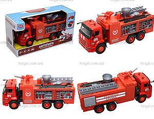 Модель пожарка PLAY SMART «Автопарк», 9624A