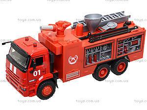 Модель пожарка PLAY SMART «Автопарк», 9624A, цена
