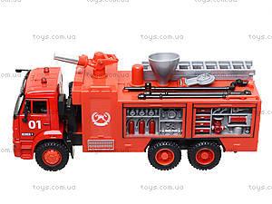 Модель пожарка PLAY SMART «Автопарк», 9624A, игрушки