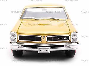 Модель Pontiac GTO 1965, 22092W, отзывы