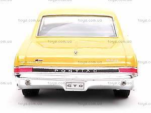 Модель Pontiac GTO 1965, 22092W, цена