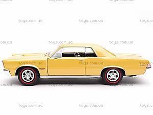 Модель Pontiac GTO 1965, 22092W, игрушки