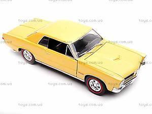 Модель Pontiac GTO 1965, 22092W, магазин игрушек