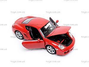 Модель Porsche Cayman S, масштаб 1:24, 22488W, фото