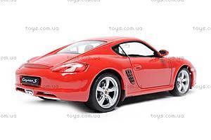 Модель Porsche Cayman S, масштаб 1:24, 22488W, отзывы