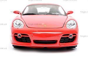 Модель Porsche Cayman S, масштаб 1:24, 22488W, цена