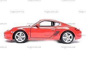 Модель Porsche Cayman S, масштаб 1:24, 22488W, игрушки