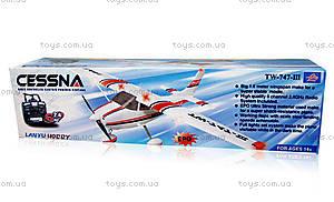 Радиоуправляемая модель самолёта Cessna 182 Skylane KIT, TW-747-3-BL-KIT, отзывы