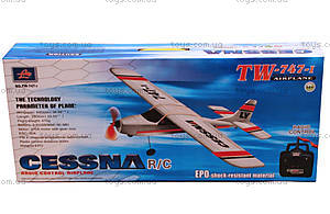 Модель самолёта радиоуправляемая VolantexRC Cessna, TW-747-1-BL-KIT, цена