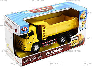 Инерционная модель самосвала «Автопарк», 9621B, цена