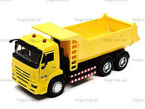 Инерционная модель самосвала «Автопарк», 9621B, детские игрушки