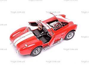 Модель Shelby Cobra, 24002W, игрушки
