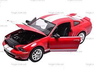 Модель Shelby Cobra GT500 2007, 22473W, детские игрушки
